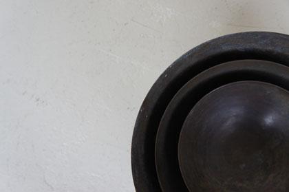 真鍮の入れ子の器